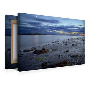 Premium Textil-Leinwand 45 cm x 30 cm quer Südküste