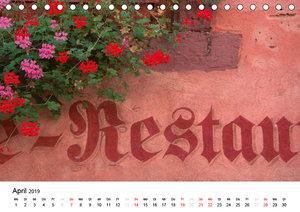 Elsass im Detail (Tischkalender 2019 DIN A5 quer)