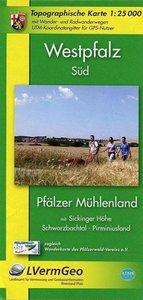 Westpfalz Süd 1 : 25.000