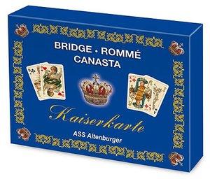 """Rommé (Spielkarten), Edition \""""Kaiserkarte\"""""""