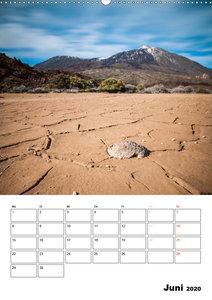 Teide und Cañadas (Wandkalender 2020 DIN A2 hoch)