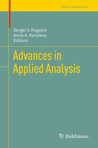 Advances in Applied Analysis