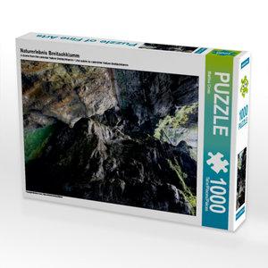 Naturerlebnis Breitachklamm 1000 Teile Puzzle hoch