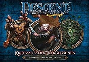 Asmodee FFGD1325 - Descent 2. Edition: Kreuzzug der Vergessenen,