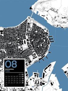 City Art - Metropolen im Schwarzplan-Design 2020