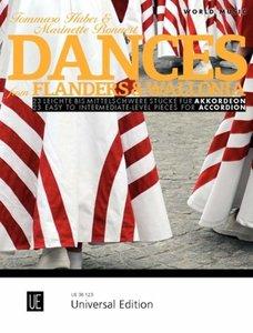 Dances from Flanders & Wallonia, für Akkordeon