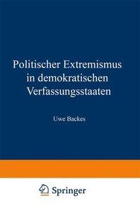 Politischer Extremismus in demokratischen Verfassungsstaaten