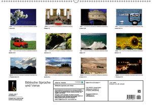 Biblische Sprüche und Verse (Wandkalender 2019 DIN A2 quer)