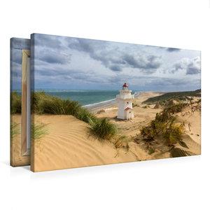 Premium Textil-Leinwand 75 cm x 50 cm quer Pouto Point Lighthous
