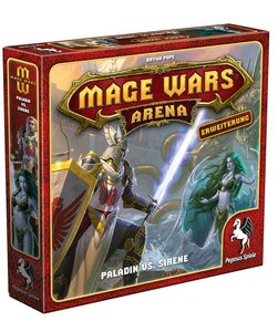 Mage Wars Arena - Paladin vs. Sirene