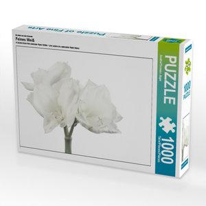 Ein Motiv aus dem Kalender Feines Weiß 1000 Teile Puzzle quer