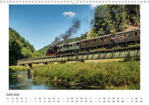 Mit der Eisenbahn in die Fränkische Schweiz (Wandkalender 2020 D