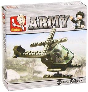 Sluban ARMY M38-B5700 - Hubschrauber, 51 Teile