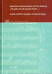 """Beethovens Klaviersonaten und ihre Deutung. \""""Für jeden Ton die"""