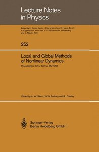 Local and Global Methods of Nonlinear Dynamics