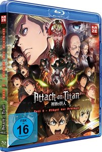 Attack on Titan - Anime Movie Teil 2: Flügel der Freiheit - Blu-