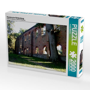 Klosterruine Boitzenburg 2000 Teile Puzzle quer