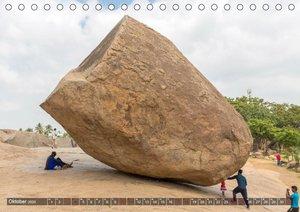 Indien - Mahabalipuram (Tischkalender 2020 DIN A5 quer)