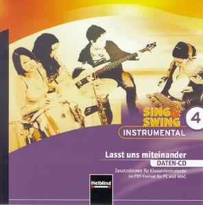 Sing & Swing Instrumental 4. Lasst und miteinander. Daten-CD