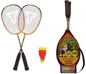 Talbot Torro 490004 - Badminton Set Speed 2200,2 leichte Rackets