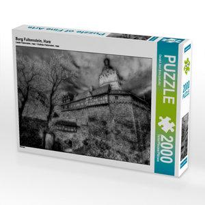 Burg Falkenstein, Harz 2000 Teile Puzzle quer