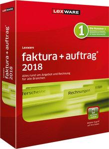 Lexware faktura+auftrag 2018, 1 CD-ROM
