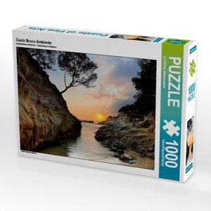 Costa Brava Ambiente 1000 Teile Puzzle quer
