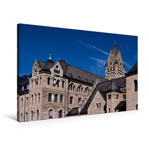 Premium Textil-Leinwand 90 cm x 60 cm quer Gerichtsgebäude