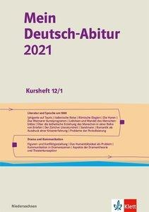 Mein Deutsch-Abitur 2021, Ausgabe Niedersachsen - Kursheft 12/1