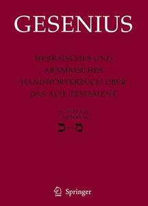 Hebräisches und aramäisches Handwörterbuch (18. A.) über das Alt
