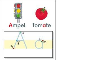 Fragenbär-Lerntafeln: ABC-Tafel