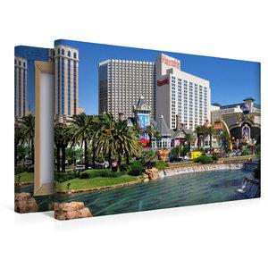 Premium Textil-Leinwand 45 cm x 30 cm quer Casinos und großzügig