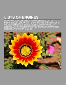 Lists of engines