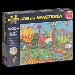 Jan van Haasteren - Das Ballonfestival - 1000 Teile Puzzle