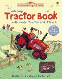 Farmyard Tales Wind Up Tractor Book