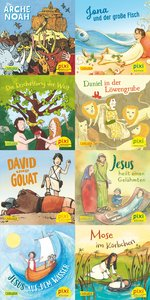 Pixi-Bundle 8er-Serie 243: Geschichten aus der Bibel
