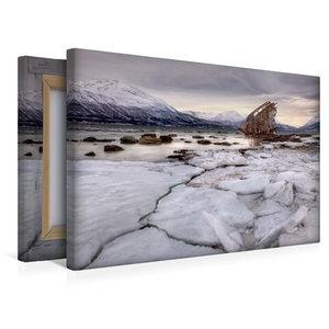 Premium Textil-Leinwand 45 cm x 30 cm quer Lost in Norway