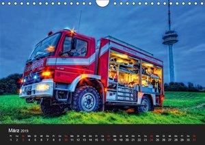 Feuerwehr Braunschweig (Wandkalender 2019 DIN A4 quer)