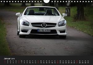 Mercedes-Benz SL 63 AMG (Wandkalender 2019 DIN A4 quer)