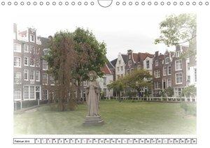 AMSTERDAM Erinnerungen (Wandkalender 2019 DIN A4 quer)