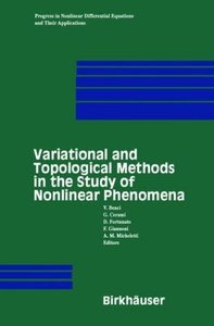 Variational and Topological Methods in the Study of Nonlinear Ph