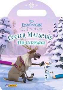 Disney Die Eiskönigin Olaf taut auf: Cooler Malspaß für unterweg