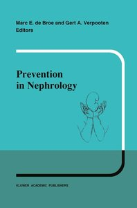 Prevention in nephrology