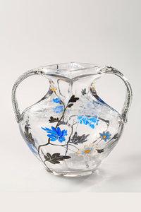 Premium Textil-Leinwand 80 cm x 120 cm hoch Vase, Atelier Emile