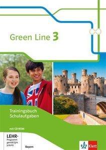 Green Line 3. Ausgabe Bayern. Trainingsbuch Schulaufgaben, Heft