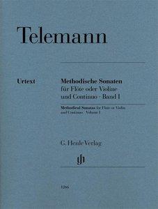Methodische Sonaten für Flöte oder Violine und Bc Bd. I