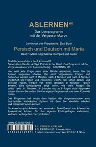 Persisch und Deutsch mit Maria, CD-ROM