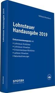 Lohnsteuer Handausgabe 2019