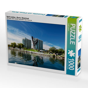 Spirit catcher - Barrie, Waterfront 1000 Teile Puzzle quer