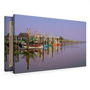 Premium Textil-Leinwand 75 cm x 50 cm quer the RGB Boat